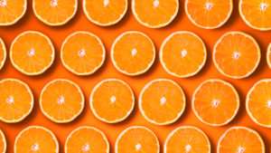 Geschnittene Orangen