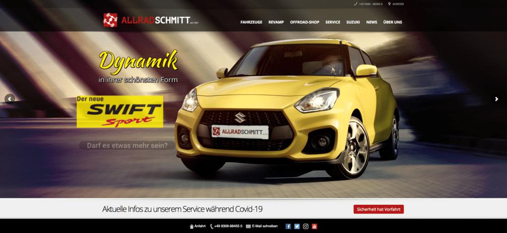Allrad Schmitt Website