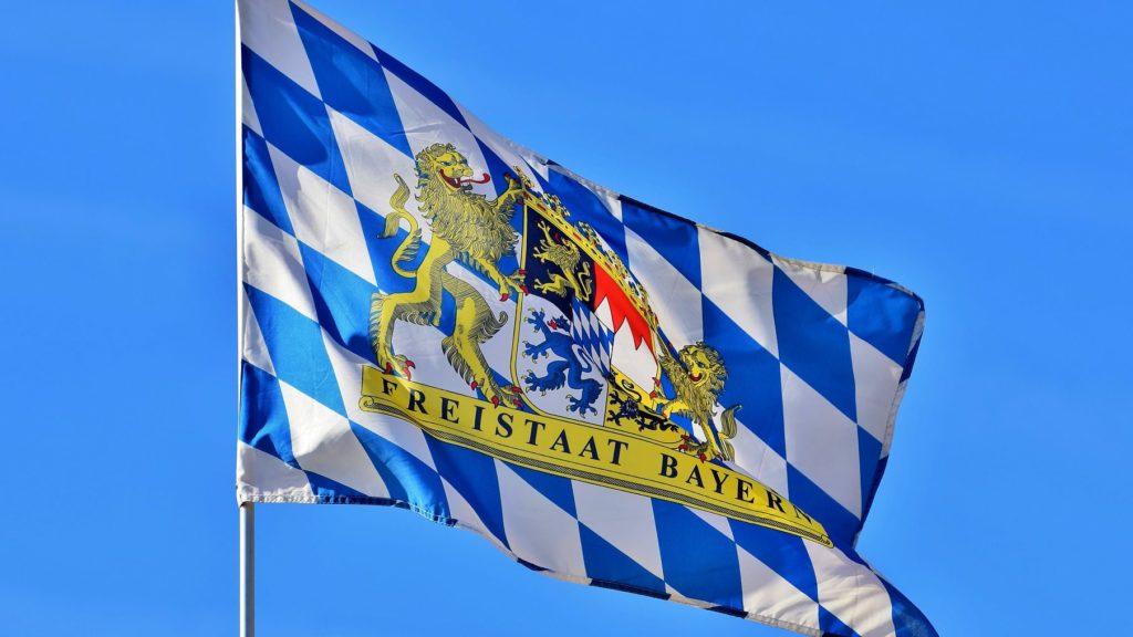 Flagge Bayern
